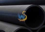 抚顺HDPE中空壁缠绕管材