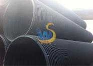 HDPE塑钢缠绕增强钢带管