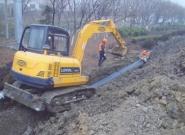 周水子高速路口管道改造